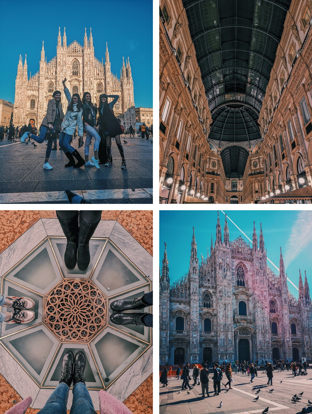 Duomo, Galleria Vittorio Emanuele, Milan